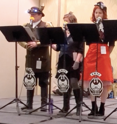 Lady Sherlock Holmes written by Tony Sarrecchia performed by ARTC at 221B Con in Atlanta. April 2019